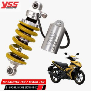 Phuộc YSS G-Sport Exciter 150/Spark 150 MX302-210TR-04-4-X