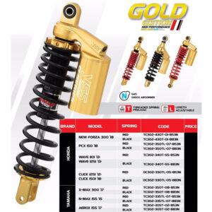 Phuộc YSS G-PLUS Vario/Lead/Click/SCR OC302-330TL-05-883NXPhuộc YSS G-PLUS Vario/Lead/Click/SCR OC302-330TL-05-883NX