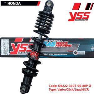 Phuộc YSSHYBRID cho xe Honda Lead, Click, Vario, SCR 125/150 OB222-330T-05-88P-X
