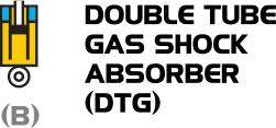 Phuộc YSS chia đôi khí gas