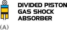 Phuộc YSS xài khí chia Piston làm đôi