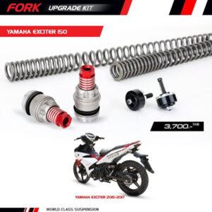Bộ nâng cấp phuộc trước (Fork Upgrade Kit) YSS chính hãng Yamaha Exciter 150 Y-FCC21-KIT-01-004-X giá tốt nhất nhập khẩu trực tiếp từ Thái Lan.