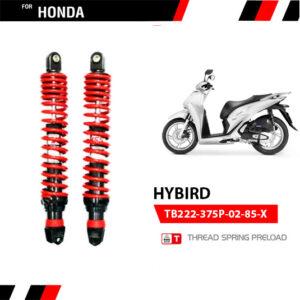 Phuộc YSS Honda SH 125/150/300, Froza 300 Hybrid (Đen Đỏ)✅Chính hãng YSS Thái Lan✅Thông Số TB222-375P-02-85-X✅Giá tốt nhất do lấy trực tiếp từ nhà máy.