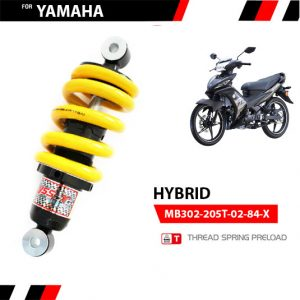 Phuộc YSS Yamaha Exciter 135, Spark 135 HYBRID✅Nhập khẩu chính hãng YSS Thái Lan bởi YSS.VN✅ Thông Số Phuộc YSS: MB302-205T-02-84-X