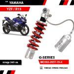 Phuộc YSS Yamaha FZ150i/YZF/R15 G-Series✅Nhập khẩu chính hãng YSS Thái Lan bởi YSS.VN✅Thông Số Phuộc YSS: MO302-265T-19-X