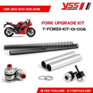 Bộ Nâng Cấp Phuộc Trước YSS Honda CBR250R/300R Y-FCM33-KIT-01-006 Fork Upgrade Kit nhập khẩu chính hãng bởi YSS.VN.