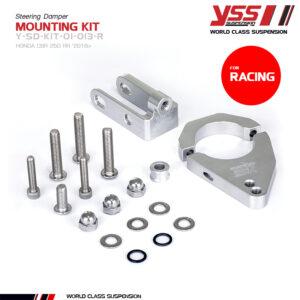 Pát gắn trợ lực cân bằng YSS Steering Damper Mounting Kit Y-SD-KIT-01-013-R Honda CBR250R/300R cho xe Honda Mô Tô nhập khẩu chính hãng Thái Lan bởi YSS.VN.