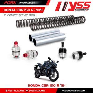 Bộ Nâng Cấp Phuộc Trước YSS Honda CBR150R Y-FCM27-KIT-01-026 Fork Upgrade Kit nhập khẩu chính hãng bởi YSS.VN.