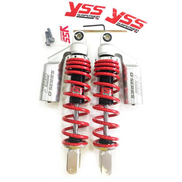 PHUỘC YSS G-Series Lò xo đỏ có bình dầu Chính hãng Thái Lan xe PCX 125/SH Ý/DYLAN/AB/Airblade 110 2020, nhập khẩu bởi YSS.VN. Mã số: TC302-310T-09-859