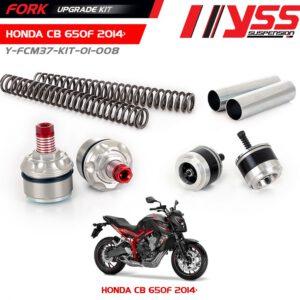 BỘ NÂNG CẤP PHUỘC TRƯỚC HONDA CB650F Y-FCM37-KIT-01-008 (YSS FORK UPGRADE KIT ) giá tốt nhất nhập khẩu trực tiếp từ Thái Lan.