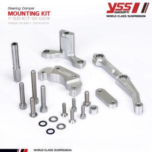 Pát gắn trợ lực cân bằng YSS Steering Damper Mounting HONDA CB 650 F Y-SD-KIT-01-009 cho xe Honda Mô Tô nhập khẩu chính hãng Thái Lan bởi YSS.VN