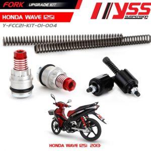 Bộ nâng cấp phuộc trước honda wave 125i Y-FCC21-KIT-01-004 giá tốt nhất nhập khẩu trực tiếp từ Thái Lan bởi công ty YSS.VN