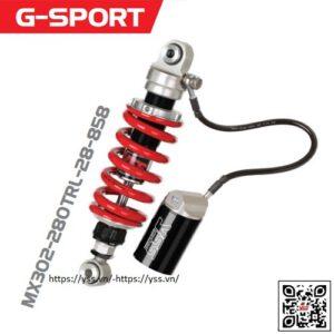 Phuộc YSS Honda CB150R 17 MX302-280TRL-28-858 được nhập khẩu trực tiếp bởi YSS.VN, sản phẩm chính hãng. Tư vấn: 0566.999.789