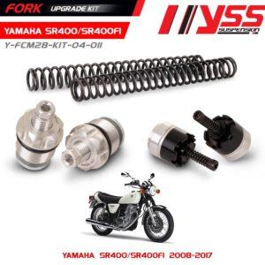 BỘ NÂNG CẤP PHUỘC TRƯỚC YSS FORK UPGRADE KIT YAMAHA SR 400 Mã sản phẩm Y-FCM28-KIT-04-011 Giá tốt nhất, bảo hành lâu, nhập trực tiếp.