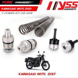 Bộ Nâng Cấp Phuộc Trước YSS KAWASAKI W175 Fork Upgrade Kit chính hãn nhập khẩu Thái Lan bởi công ty YSS.Vn , Mã sản phẩm : Y-FCM25-KIT-02-009