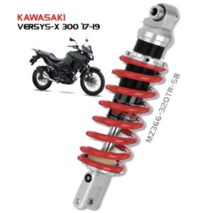 Phuộc VERSYS X 300, Phuộc xe máy YSS VERSYS X 300 chính hãng YSS Thái Lan, Giảm xóc KAWASAKI VERSYS X 300 đi êm giá tốt nhất . Mã phuộc: MZ366-320TR-58-85