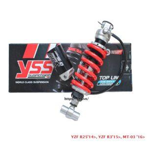 huộc YZF R25/ YZF R3/ MT-03, Phuộc YSS YAMAHA R3 (2015-NAY) / MT03 (2016-NAY) G-SPORT ✅Nhập khẩu chính hãng YSS Thái Lan bởi YSS.VN✅ MX302-280TRL-18-858