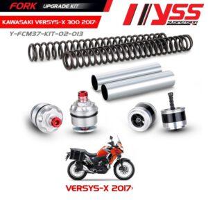 Phuộc trước KAWASAKI VERSYS X 300, Bộ Nâng Cấp Phuộc Trước YSS KAWASAKI VERSYS X 300, Fork Upgrade Kit chính hãn nhập khẩu Thái Lan bởi công ty YSS.Vn
