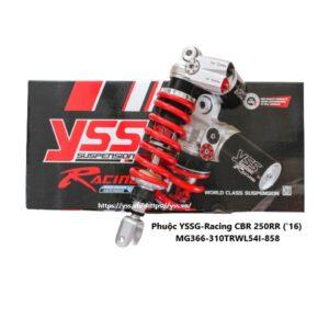 Phuộc CBR 250 RR, PHUỘC YSS G- RACING CBR 250 RR '16 Nhập khẩu chính hãng YSS Thái Lan bởi YSS.VN Phân phối phuộc YSS Chính Hãng Toàn Quốc.