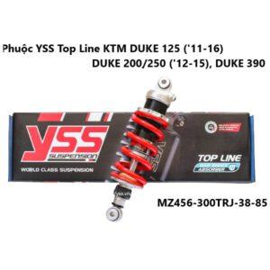 Phuộc YSS Top Line KTM DUKE 125 ('11-16), DUKE 200/250 ('12-15), DUKE 390 phuộc mô tô được nhập khẩu trực tiếp bởi YSS.VN, sản phẩm chính hãng thái lan.