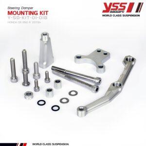 Pát gắn trợ lực cân bằng YSS Steering Damper Mounting HONDA CB650R'19 Y-SD-KIT-01-018 cho xe Honda Mô Tô nhập khẩu chính hãng Thái Lan bởi YSS.VN