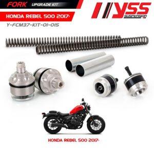 Bộ Nâng Cấp Phuộc Trước YSS HONDA REBEL 500 Fork Upgrade Kit Phuộc Rebel 500 ,Nhập khẩu chính hãng YSS Thái Lan bởi YSS.VN Mã sản phẩm: Y-FCM37-KIT-01-015