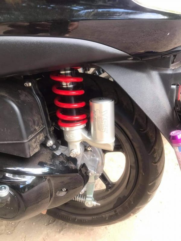 Phuộc YSS K-EURO Mio/Click 110/Luvias/Scoopy/ Honda Beat 110cc (Bình Bạc)✅Nhập khẩu chính hãng YSS Thái Lan bởi YSS.VN✅Thông Số Phuộc YSS: OK302-300T-01-859